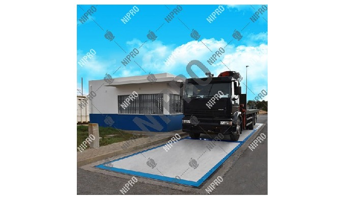 Weighing Capacity: Max. 200 Ton Brand: Nipro Size: 20 x 3 m Taring Range: 100% Application: Cement I...