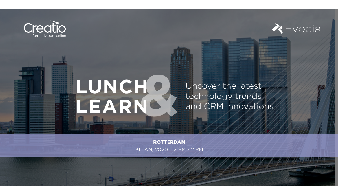 Lunch & Learn event Rotterdam