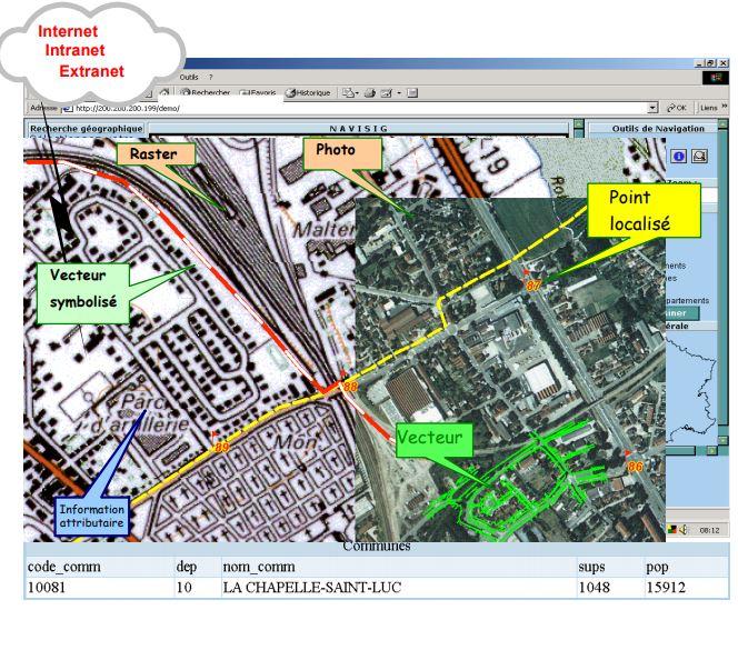 CERENE Services, vous présente un service en cartographie qui consiste à analyser l'ensemble des bes...