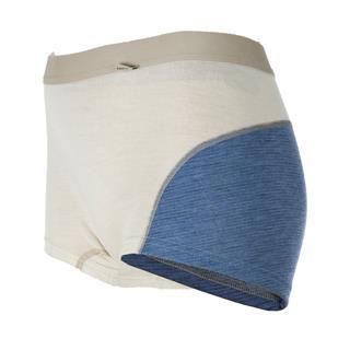 Janus Designwool boxer er laget i fineste kløfri merinoull med detaljer fra vår nye strikkeeffekt, J...