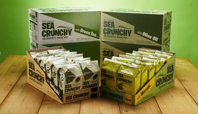 SEACRUNCHY SEAWEED SNACK l high quality seaweed snack
