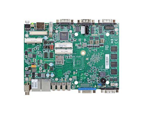 Intel Atom® Processor E3800 4'' SBC 2GB/4GB DDR3L ECC memory down 1 VGA, 1 LVDS, 1 HDMI Expansion: 3...
