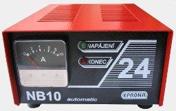 Nabíječ startovacích akumulátorů NB10