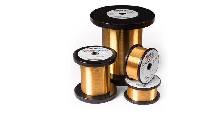Gold Plated Tungsten-Rhenium Wire