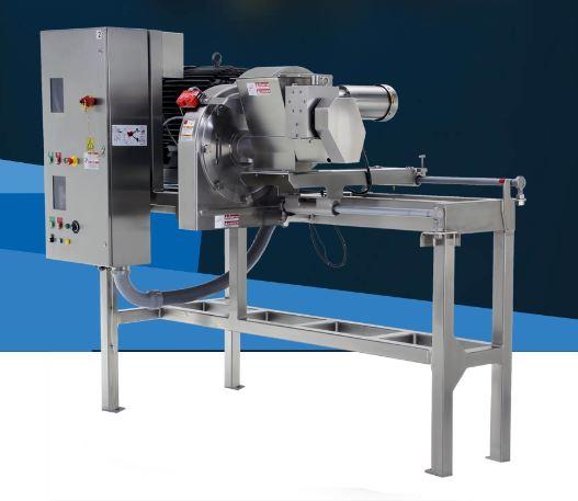 Le Processeur Comitrol®, modèle 9300 avec vis d'alimentation d'Urschel offre une réduction contrôlée...