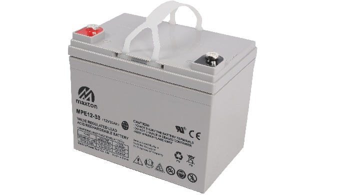 Maxton VRLA battery. Complying to the most popular international standards, such as IEC60896-21,IEC6...