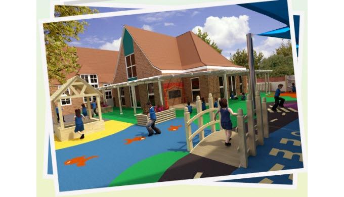 Playground Markings, Playground Equipment