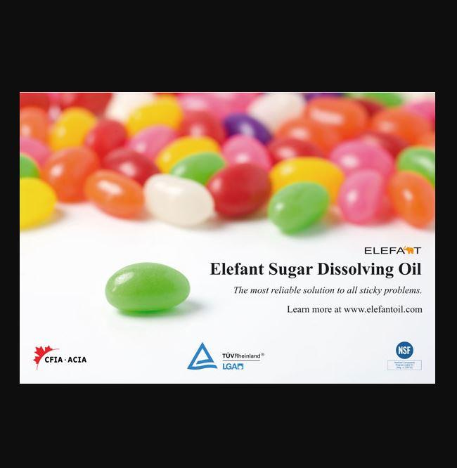 Huile dissolvante du sucre ELEFANT