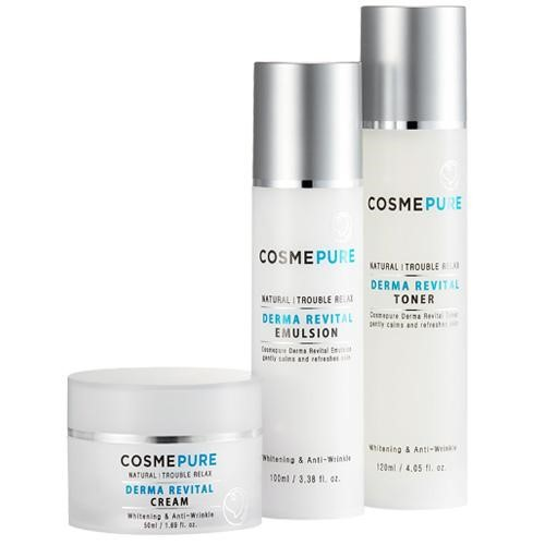 COSMEPURE DERMA REVITAL SKIN CARE SET