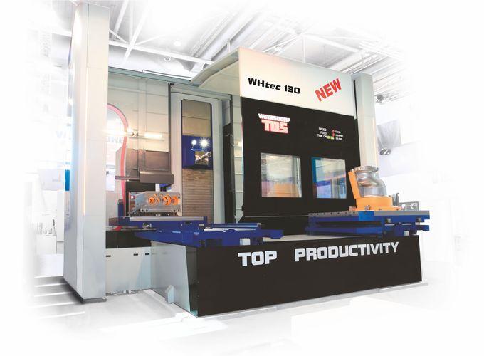 Horizontální obráběcí centra WHtec 130 Obráběcí centrum WHtec 130 je největším představitelem nejnov...