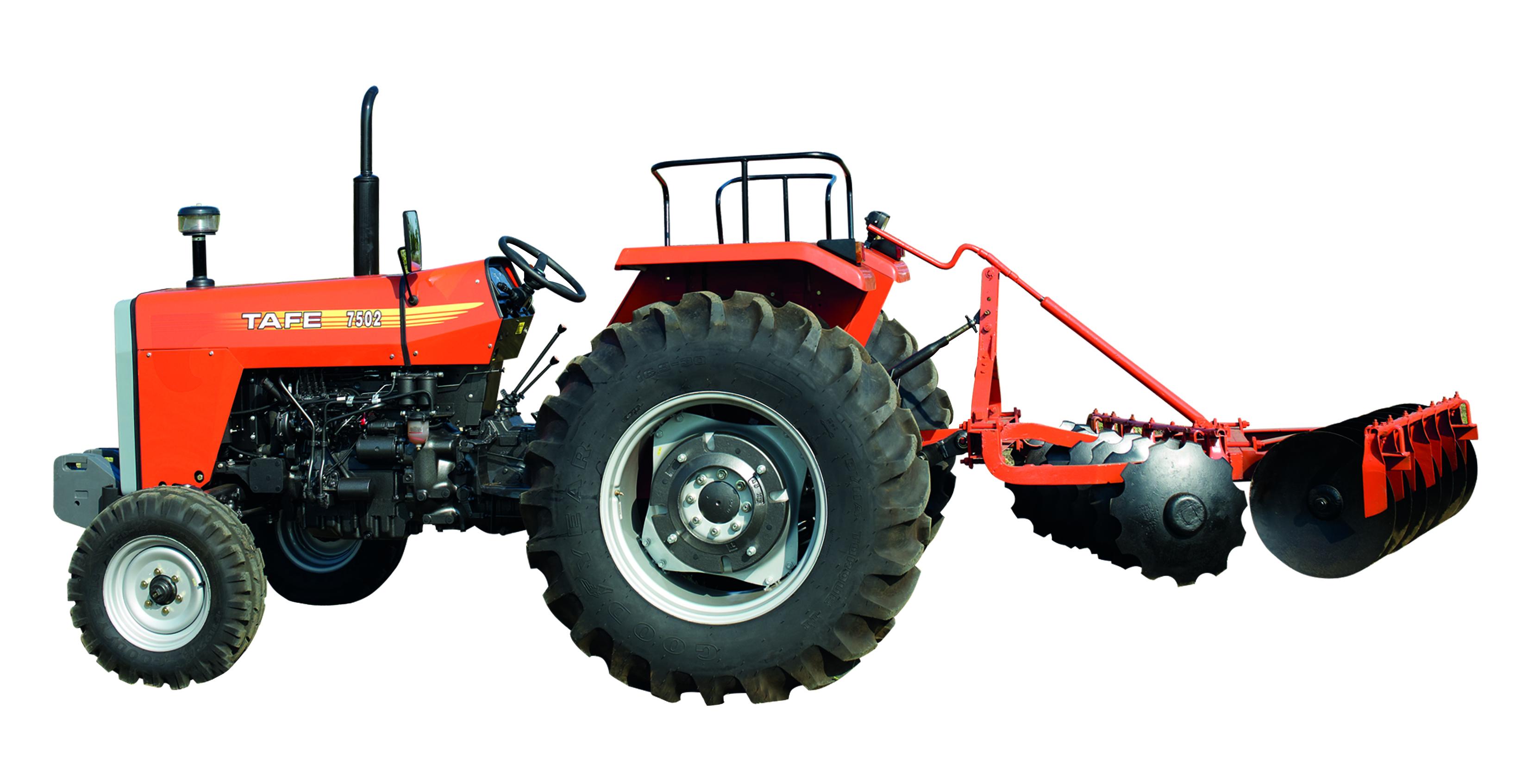 Tracteur TAFE 7502