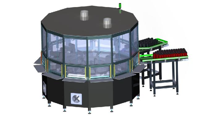 Impresora de inyección de tinta digital para objetos rotativos y cilíndricos | KP
