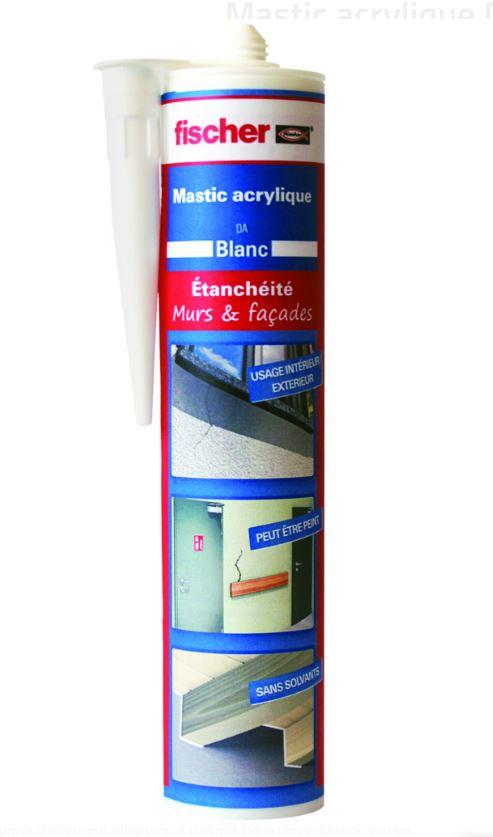 Le Mastic acrylique DA acajou est fortement recommandé pour les joints de raccordement à faible mouv...