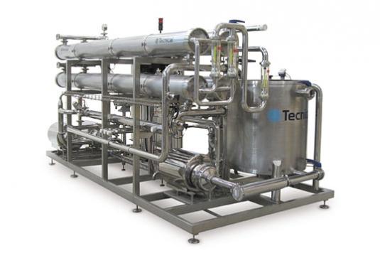 Apparecchiature di filtrazione a membrane di NF