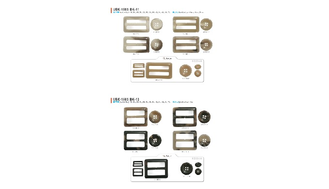 It is a buckle made of UREA as one of the main products. The pattern and color are more luxurious th...