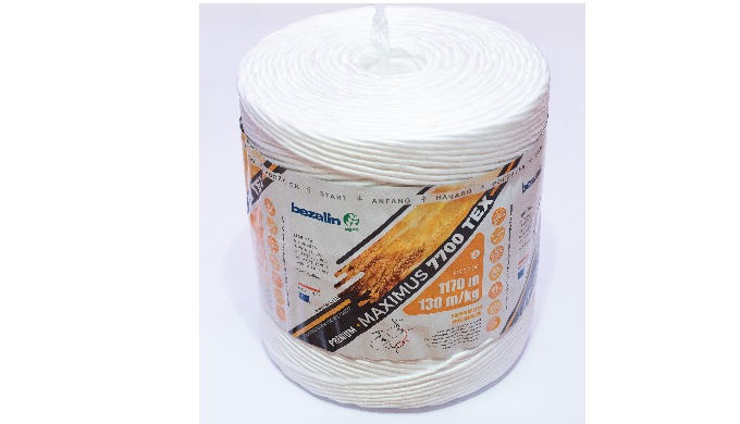 Baler twine for agricultural machines, polypropyelene twine