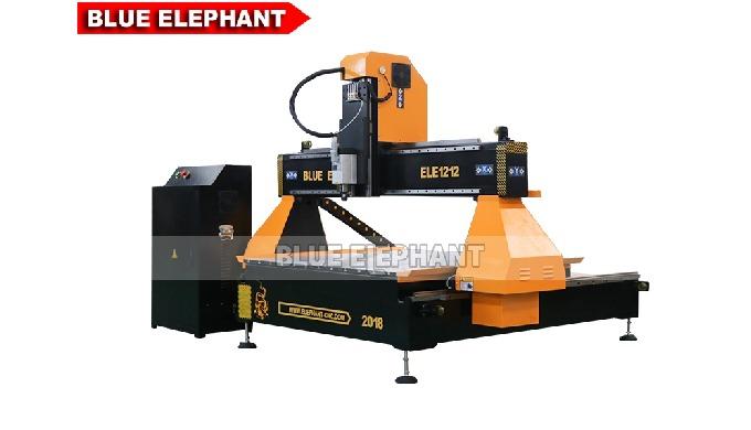 Achsen-CNC-Holzschnitzmaschine des Tischplatten-3 der ELECNC-1212