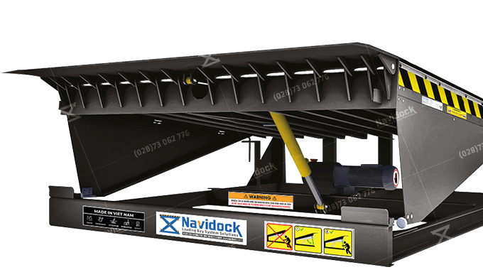 Hydraulic Dock Leveler – HDL01ND is a lifting support device and a bridge between the warehouse floo...