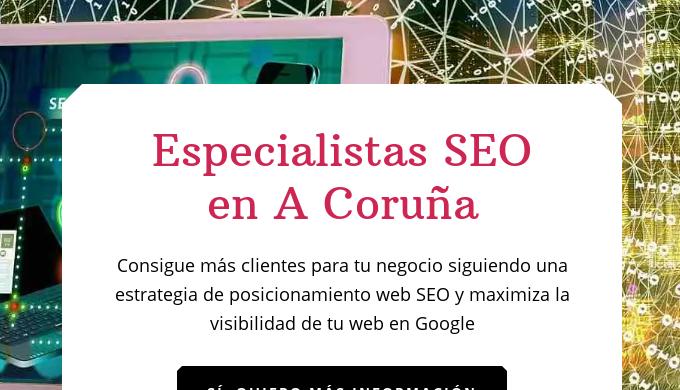 Somos una Agencia de Marketing Online/Digital especializada en posicionamiento web SEO en Google (co...