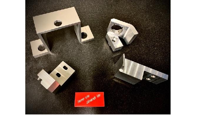 Präzisions-Sonderteile aus Aluminium