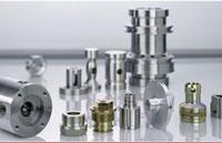 CNC-Revolver- und Futterdrehteile.