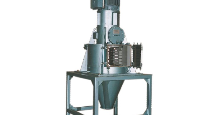 The Hosokawa Micron Vertical Disintegrator is used for the size reduction of fine, coarse, wet, mois...