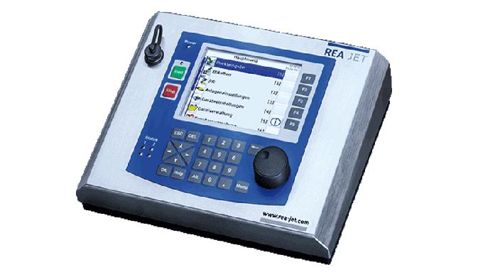 Die modular aufgebauten Beschriftungssysteme REA JET DOD für Texte, Daten oder Logos sind in einer S...