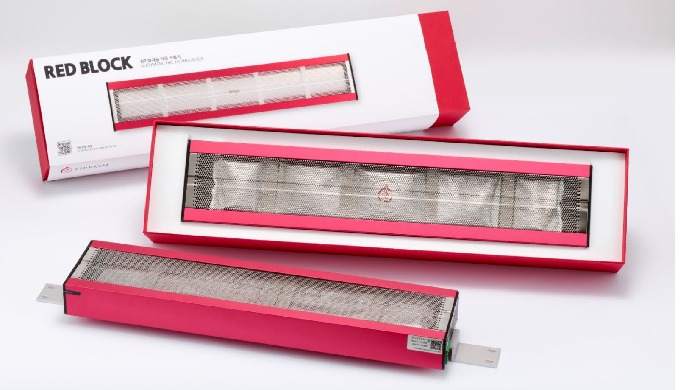The 'RED BLOCK' is applicable to mid to large-sized spaces such as electrical panels, switches, tran...
