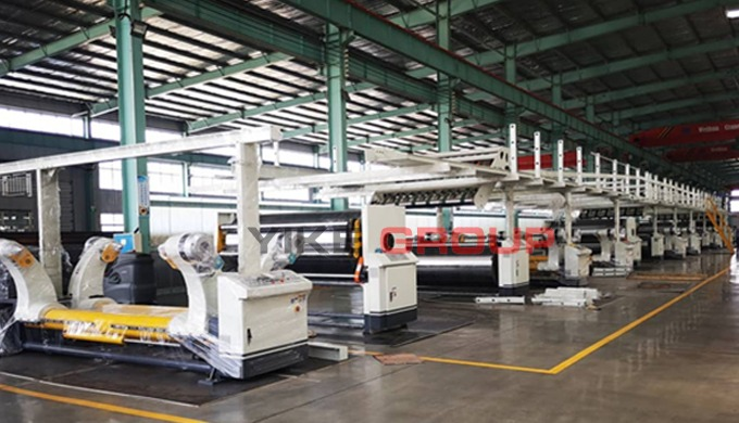 Hydraulic mill roll stand Specification ● Symmetrical structure can install two rolls of paper at th...