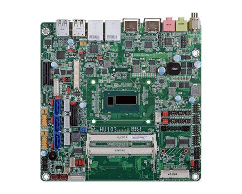 HU101/HU103 | 4th Gen Intel Core ULT | Mini-ITX | DFI