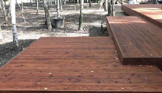 Ash-tree terrace board