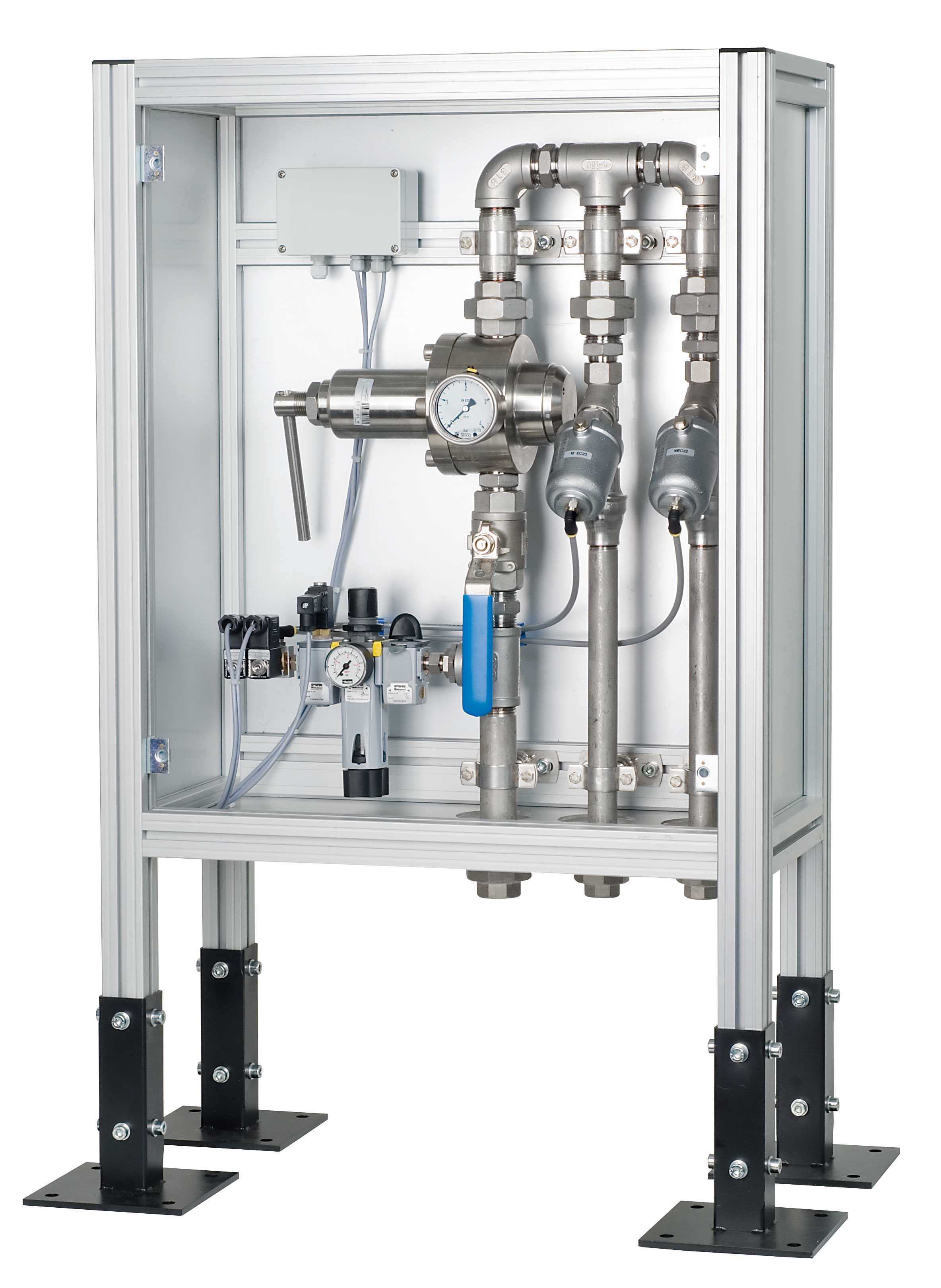 Flüssigkeits- und Gasströme steuern, regeln und kühlen
