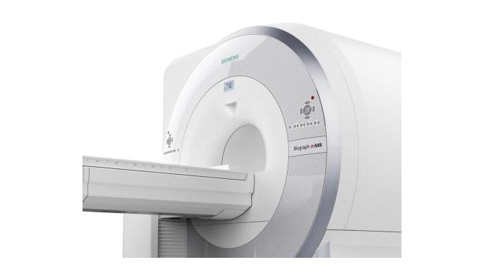 Magnetic resonance imaging (MRI) apparatus Siemens Biograph mMR.
