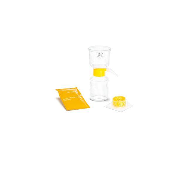 Sartoclear Dynamics® Lab V, 250 ml, 10 g est l'un des kits de filtration Sartoclear Dynamics® Lab. S...