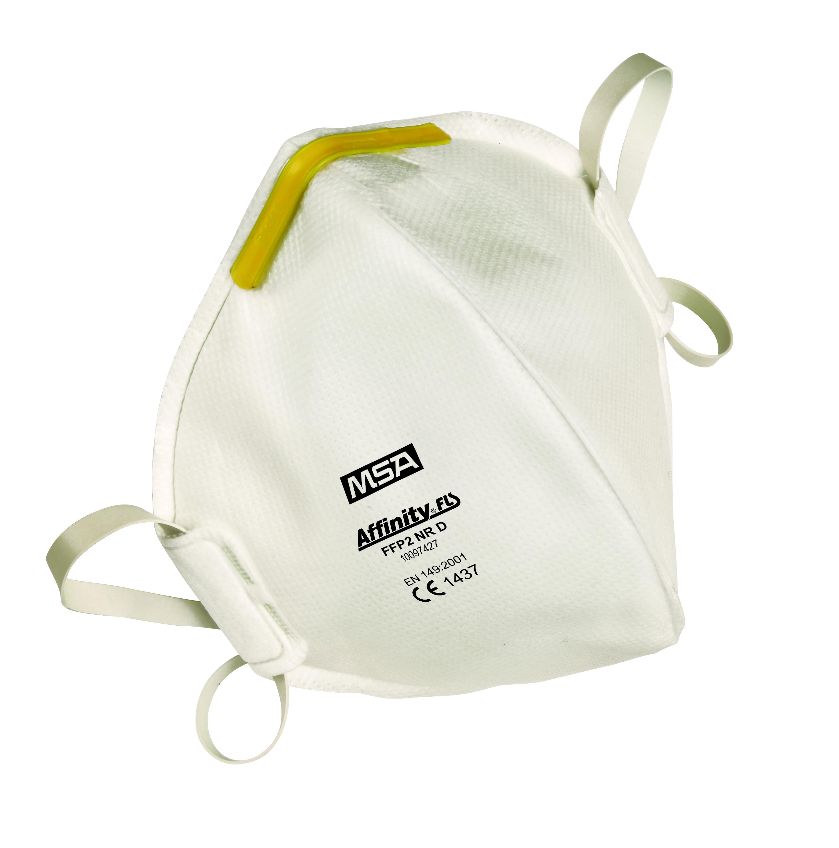 Le masque Affinity 2100 assure une protection efficace contre les particules aérosols solides et liq...