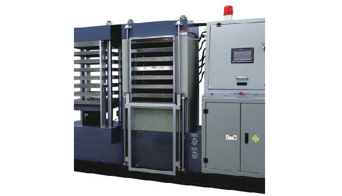 The machine is a equipment of high precision and high output which is made up of PLC control system ...