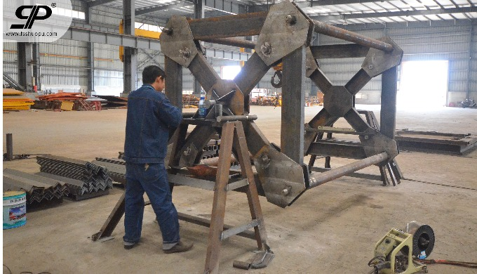 customized  metal fabrication heavy duty weldment for shipbuilding