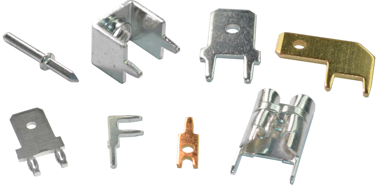 Kontaktteile für Printplatten / Lötanschlüsse