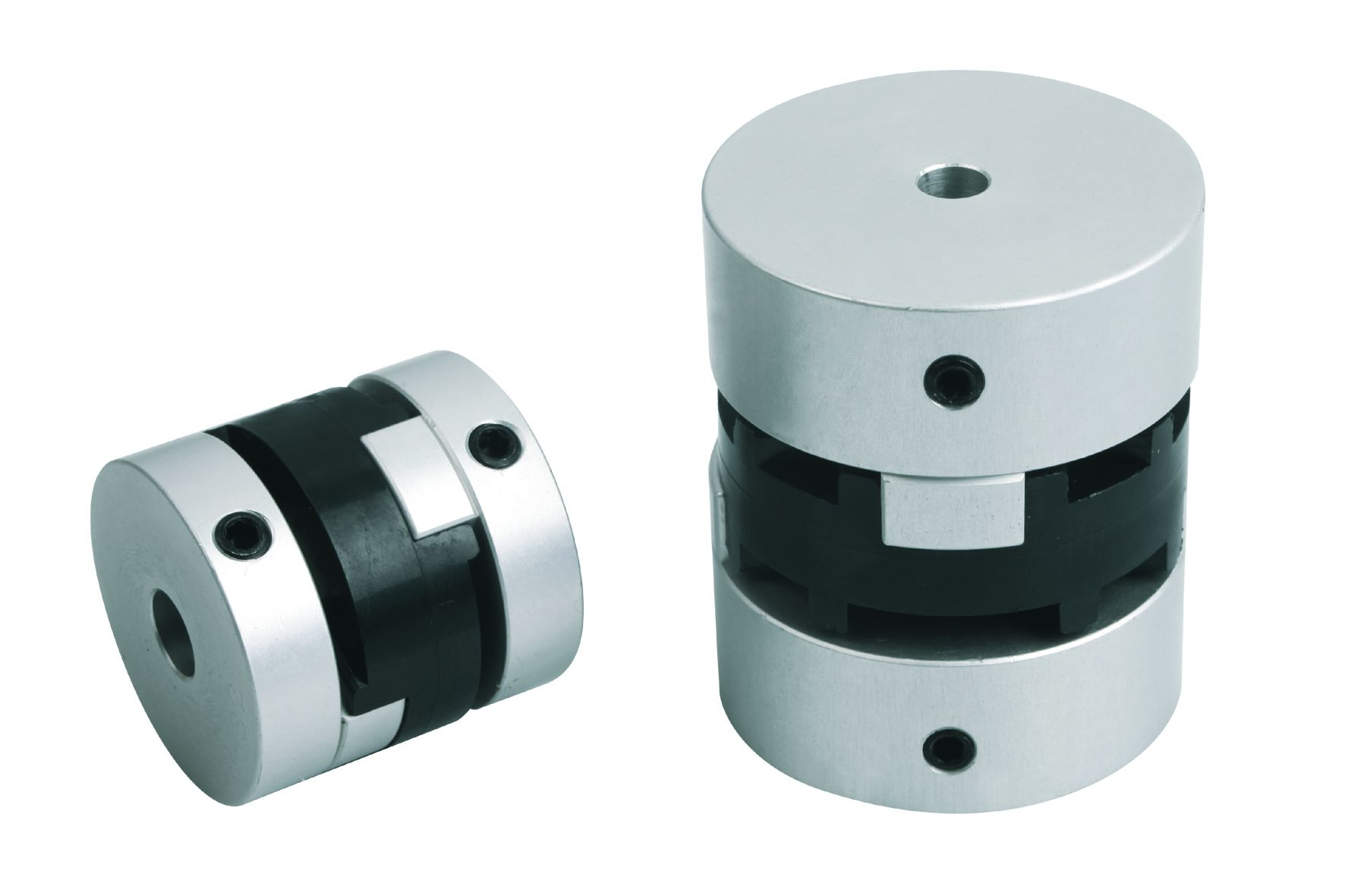 Material: Centre disc polyacetal. Hub aluminium. Note: Clamping the hub with a grub screw is a cost-...
