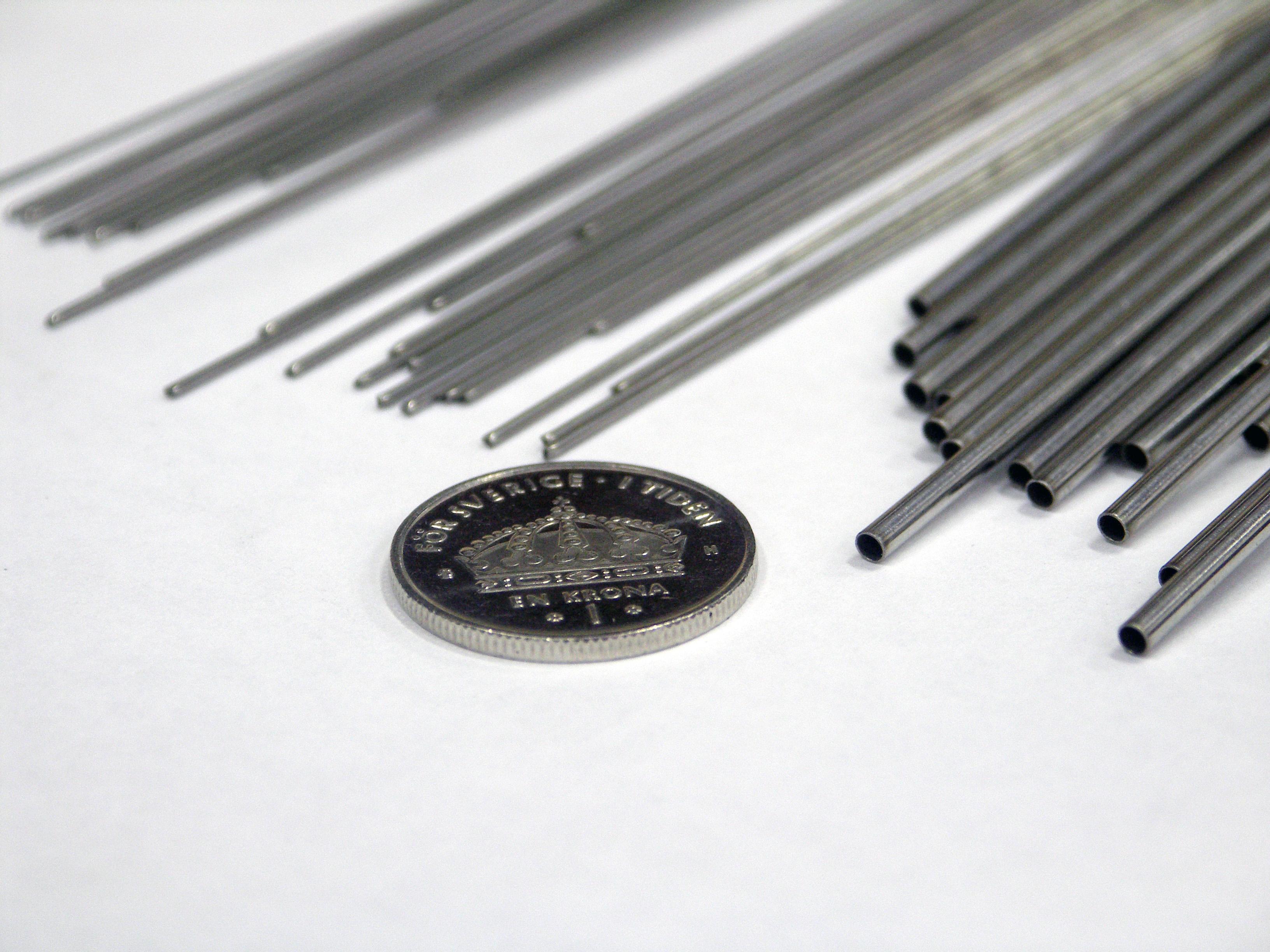 Svařovací materiály pro svařování niklu, titanu a nerezové oceli a