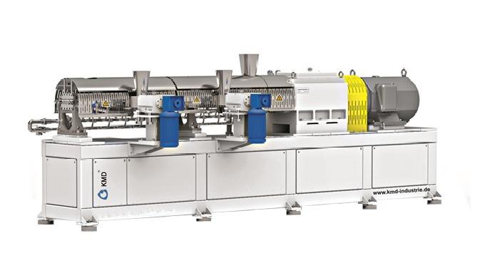 Doppelschneckenextruder, eine Machine von außergewöhnlicher Leistung – dank spezieller Bauweise 1. D...