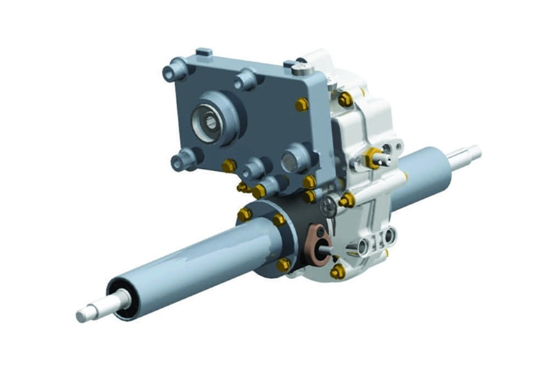 - Type : Differential Gear Type Transmission - Application : Construction Machinery (Pedestrian or R...