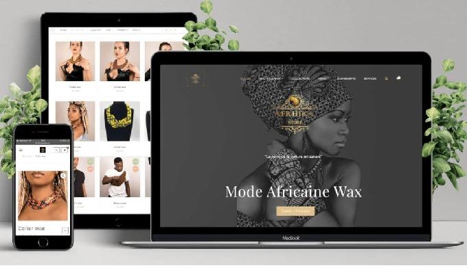 Afrhika Store est une boutique d'accessoires et prêt-à-porter de mode Africaine pour hommes et femme...