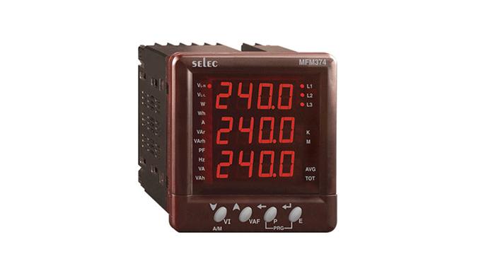 Ronak Switchgear - wholesaler and distributor of SELEC Energy Meters in India Buy SELEC Energy Meter...
