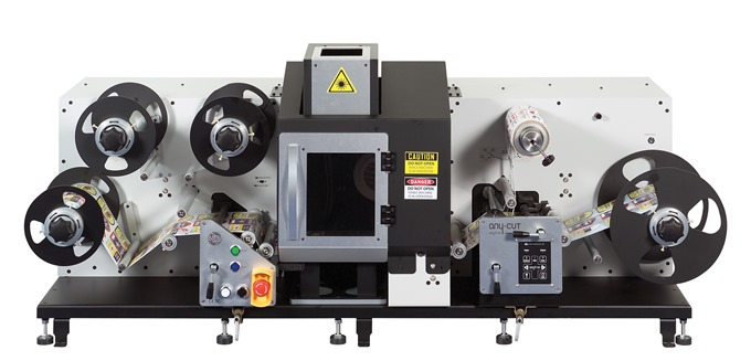Post processing equipment for small batch label printing(anycut _01)
