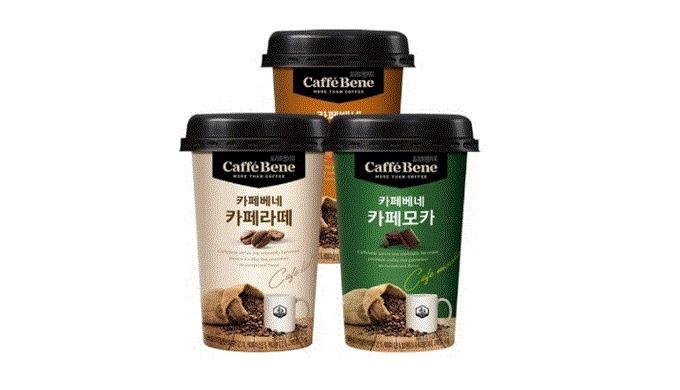 Caffe Bene Cafe latte 200ml |Coffee