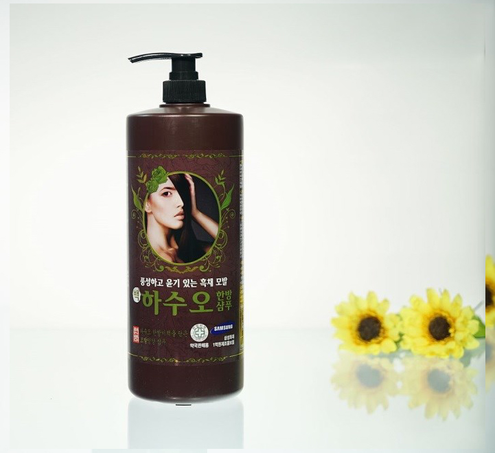 Oriental herbal hair nutri-shampoo