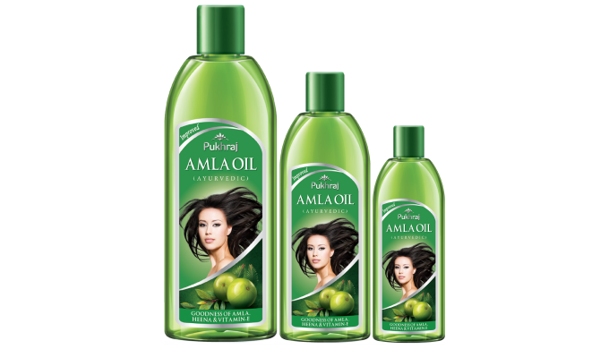 For Healthy Glowing Hair Pukhraj Amla Oil is enriched with amla, henna, and vitamin E. It not only n...