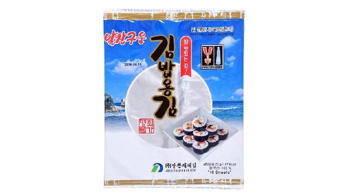 Alchanjaerae Roasted Kimbab Seaweed | korean seaweed rice rolls seaweed