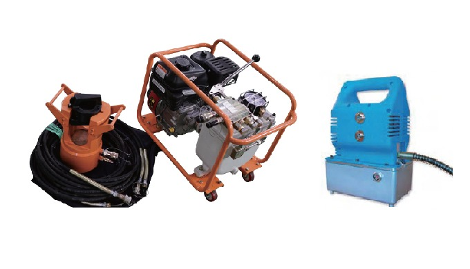 HYDRALIC COMPRESSION SYSTEM | Overhead Power Line Construction Equipment YL-C210/YL-C310 EQUIPMENT T...